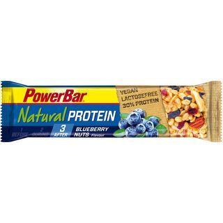 PowerBar Natural Protein (Vegan) - Blueberry Nuts - Proteinriegel