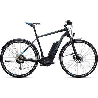 Cube Cross Hybrid Pro Allroad 500 2017, black´n´blue - E-Bike