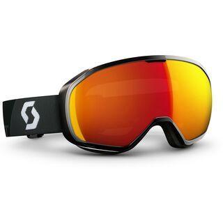 Scott Fix, black/red chrome - Skibrille