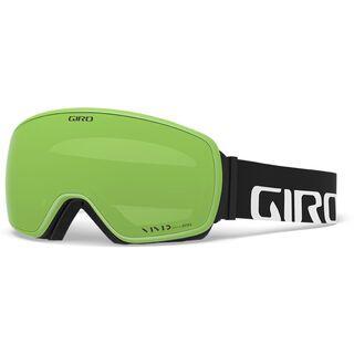 Giro Agent inkl. WS, black/Lens: vivid emerald - Skibrille