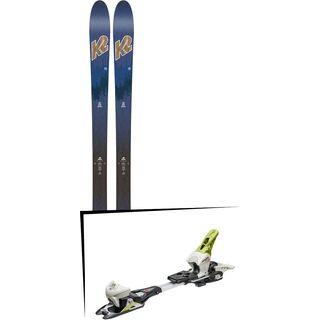 Set: K2 SKI Wayback 82 ECOre 2018 + Fritschi Diamir Eagle 12 lemongrass