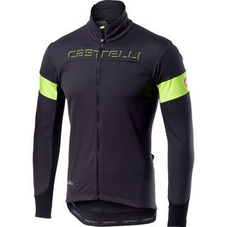 Castelli Transition Jacket, gray/yellow - Radjacke