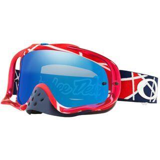 Oakley Crowbar MX Troy Lee Designs Series, Lens: black ice iridium - MX Brille