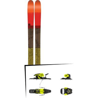 Set: K2 SKI Poacher 2017 + Salomon Warden 11 (1706224)