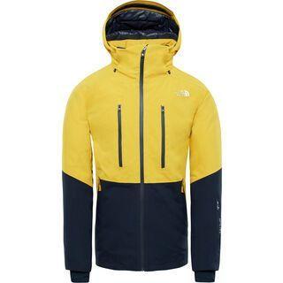 The North Face Mens Anonym Jacket, yellow/urban navy - Skijacke