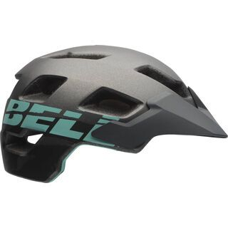 Bell Rush, matte gunmetal mint - Fahrradhelm
