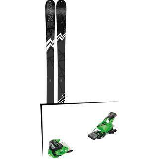 Set: K2 SKI Press 2019 + Tyrolia Attack² 13 GW green