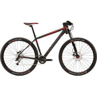 Cannondale F29 Carbon 3 2015, black/red/grey - Mountainbike