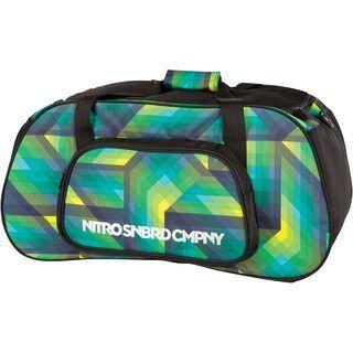 Nitro Duffle Bag, geo green - Sporttasche