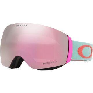 Oakley Flight Deck XM Prizm, white/Lens: prizm hi pink iridium - Skibrille