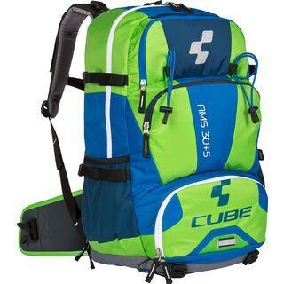 Cube Rucksack AMS 30+5, blue´n´green - Fahrradrucksack