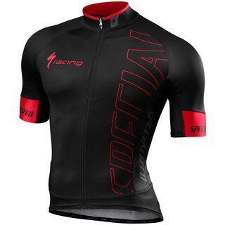 Specialized SL Pro Jersey, black/red team - Radtrikot