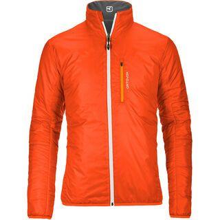 Ortovox Swisswool Light Jacket Piz Boval, black steel - Thermojacke