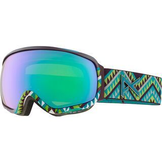 Anon Tempest, Canyon/Green Solex - Skibrille