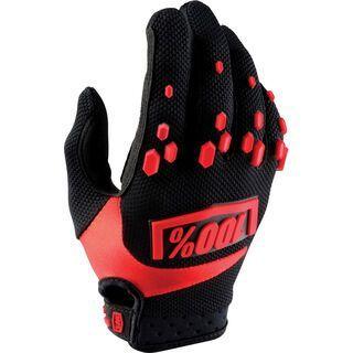 100% Airmatic Glove, black/red - Fahrradhandschuhe