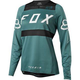 Fox Womens Flexair LS Jersey, pine - Radtrikot