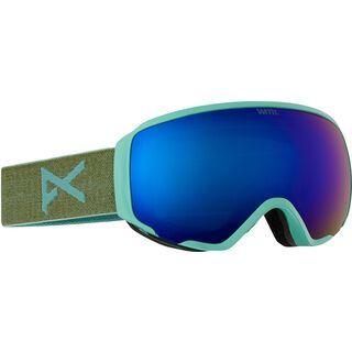Anon WM1, mint/blue cobalt - Skibrille