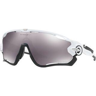 Oakley Jawbreaker Prizm, polished white/Lens: prizm black - Sportbrille
