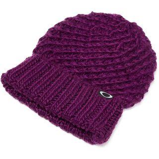 Oakley Beanie Mix Yarn, burgundy - Mütze