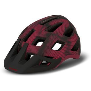 Cube Helm Badger red