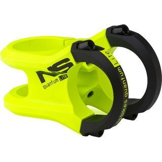 NS Bikes Quantum Lite Stem, lemon lime - Vorbau