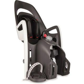 Hamax Caress mit Gepäckträger-Adapter, grau/weiss/schwarz - Kindersitz