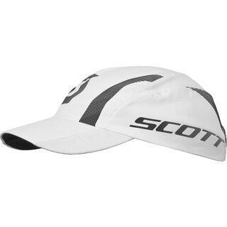 Scott Run Race Cap, white/black