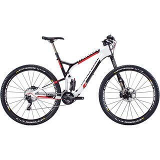 Cannondale Trigger 29 Carbon 2 2015, white/black/red - Mountainbike