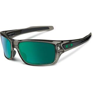 Oakley Turbine, grey smoke/jade iridium polarized - Sonnenbrille
