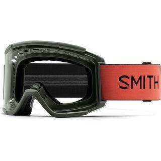 Smith Squad MTB XL, sage red rock/Lens: clear anti-fog - MX Brille
