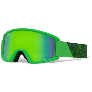 Giro Semi inkl. WS, bright green peak/Lens: loden green - Skibrille