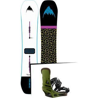 Set: Burton Free Thinker 2019 + Burton Malavita camp on green