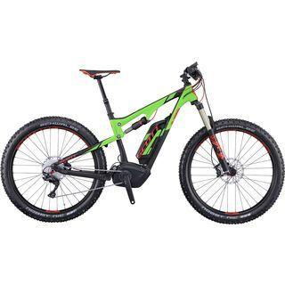 Scott E-Genius 710 Plus 2016, black/green/red - E-Bike