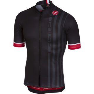 Castelli Podio Doppio Jersey FZ, black - Radtrikot