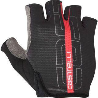 Castelli Tempo Glove, black/red - Fahrradhandschuhe