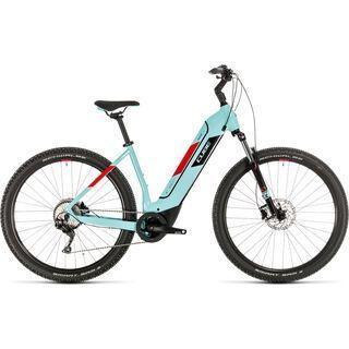 Cube Nuride Hybrid Pro 500 2020, glacierblue´n´red - E-Bike