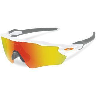 Oakley Radar EV Path, polished white/Lens: fire iridium - Sportbrille