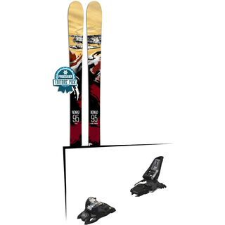 Set: Icelantic Nomad 95 2018 + Marker Squire 11 ID black