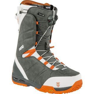 Nitro Team TLS 2015, grey orange eero - Snowboardschuhe