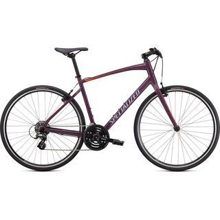 Specialized Sirrus 1.0 2020, cast lilac/coral/black reflective - Fitnessbike