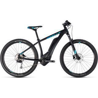 Cube Access Hybrid ONE 500 27.5 2018, black´n´aqua - E-Bike
