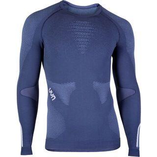 UYN Ambityon Shirt, deep blue/white - Unterhemd
