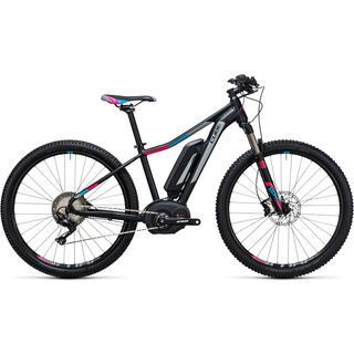 Cube Access WLS Hybrid Race 400 29 2017, black´n´grey - E-Bike