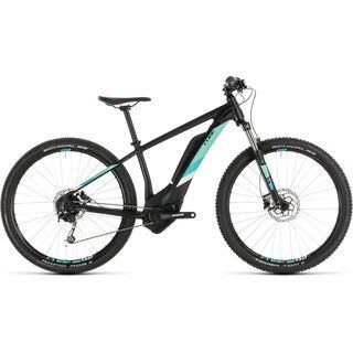 Cube Access Hybrid ONE 400 27.5 2019, black´n´mint - E-Bike