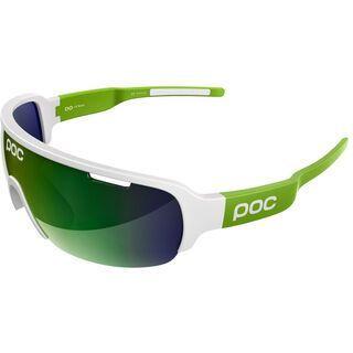 POC DO Half Blade, white cannon green/Lens: green mirror - Sportbrille