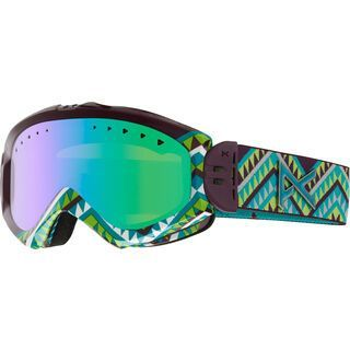 Anon Majestic, Canyon/Green Solex - Skibrille