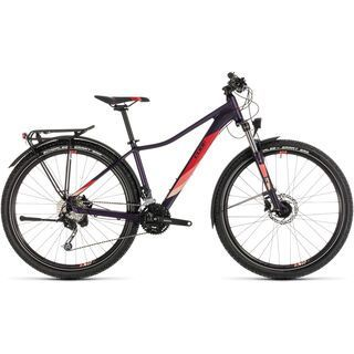 Cube Access WS Pro Allroad 27.5 2019, aubergine´n´rose - Mountainbike