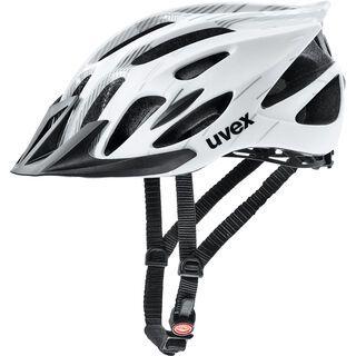 uvex flash, white black - Fahrradhelm