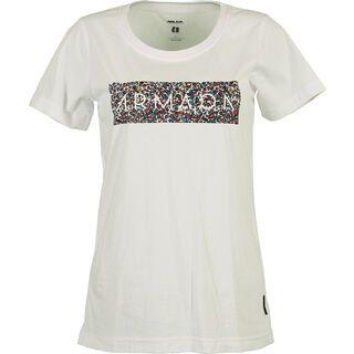 Armada Floral Tee, white - T-Shirt
