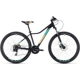 Cube Access EAZ 27.5 2018, black´n´mint - Mountainbike